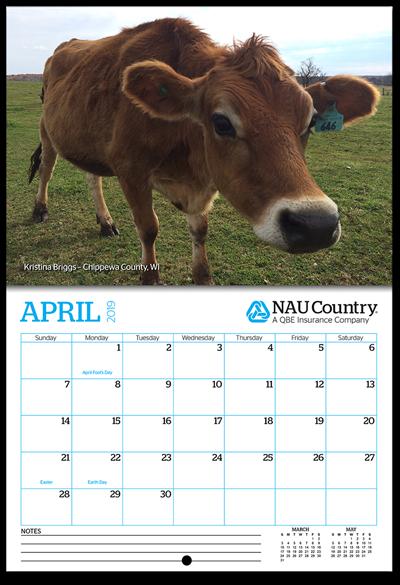 Nau Fall 2020 Calendar 2020 NAU Country Photo Calendar | NAU Country Insurance Company