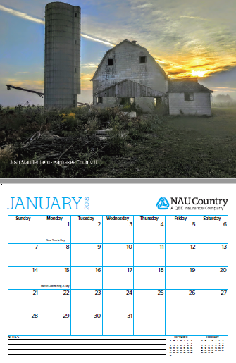 Calendar Example for CC