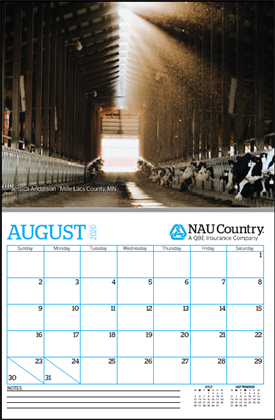 2021 NAU Country Photo Calendar Contest | NAU Country Insurance