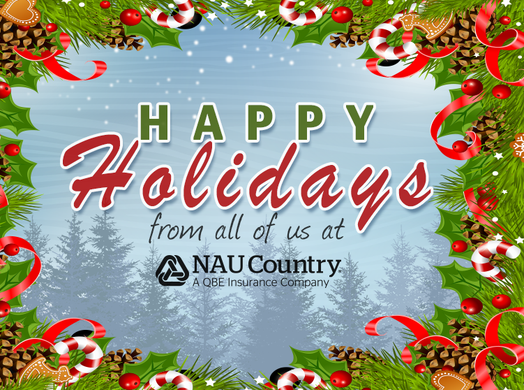 Happy Holidays from NAU Country