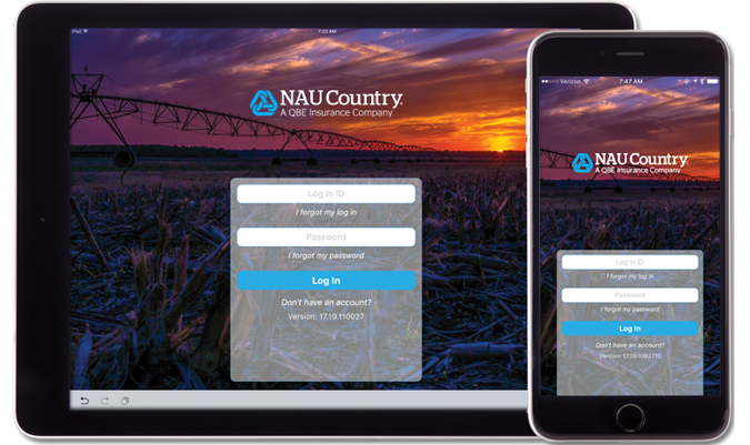 Quoting and submission of applications with NAU Country Mobile