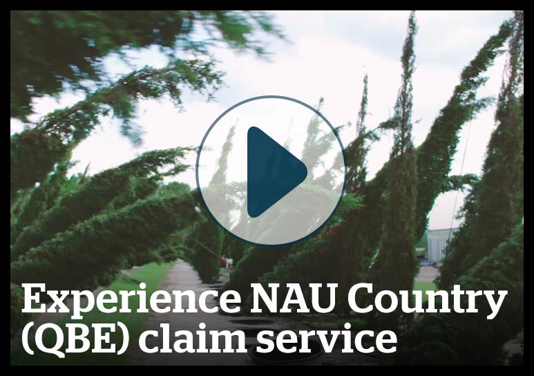 Experience NAU Country claim service